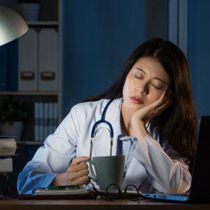 condiciones laborales de una guardia médica