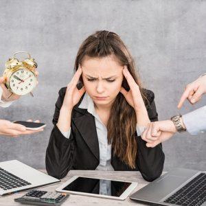 baja por estrés laboral